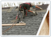 Roofng instalation on a house - with Demitonal Shinlges and some Repairs on the Flat roofing area , Guaranteed - Call for your free roofing estimate in Clarkston - oxford - rochester- troy-clarkston- oakland twp. orion twp. the south / east  michigan