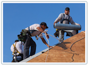 Roofing Replacement-Clarkston Michigan - New Shingles on A Home , Free Roofing Quotes and Estimates on homes and Business.